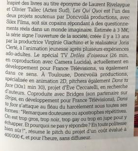 article de Emmanuelle Miquet, Le Film francais